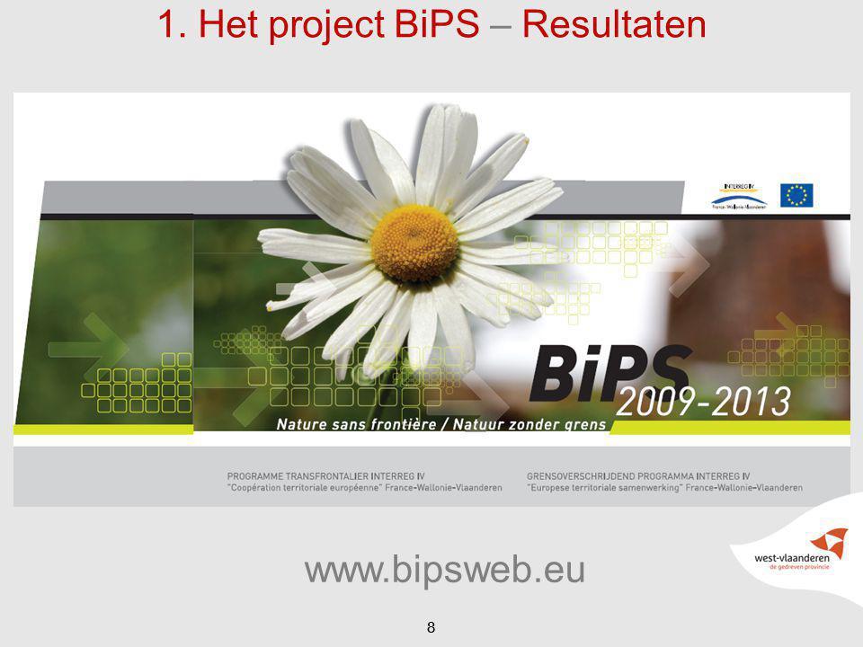 1. Het project BiPS – Resultaten