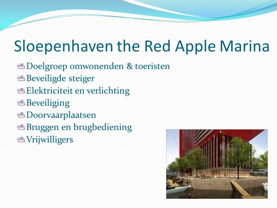 Sloepenhaven the Red Apple Marina