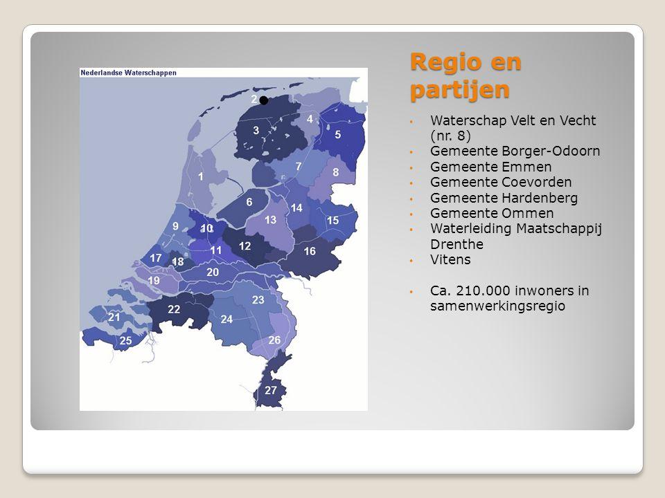 Regio en partijen Waterschap Velt en Vecht (nr. 8)