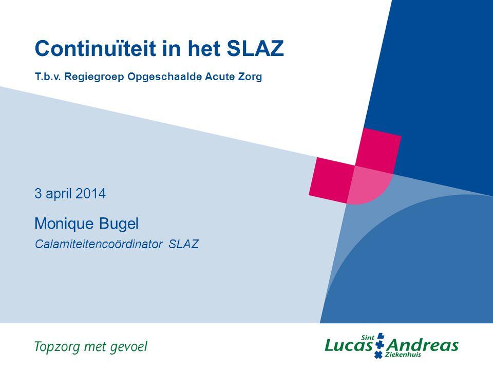 Continuïteit in het SLAZ