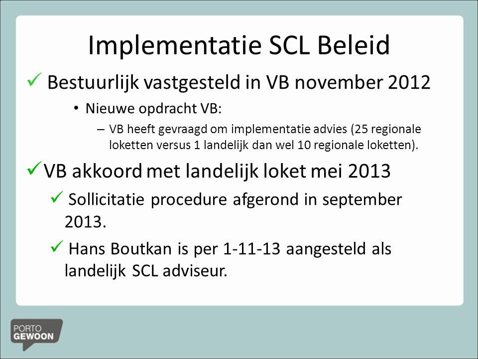 Implementatie SCL Beleid