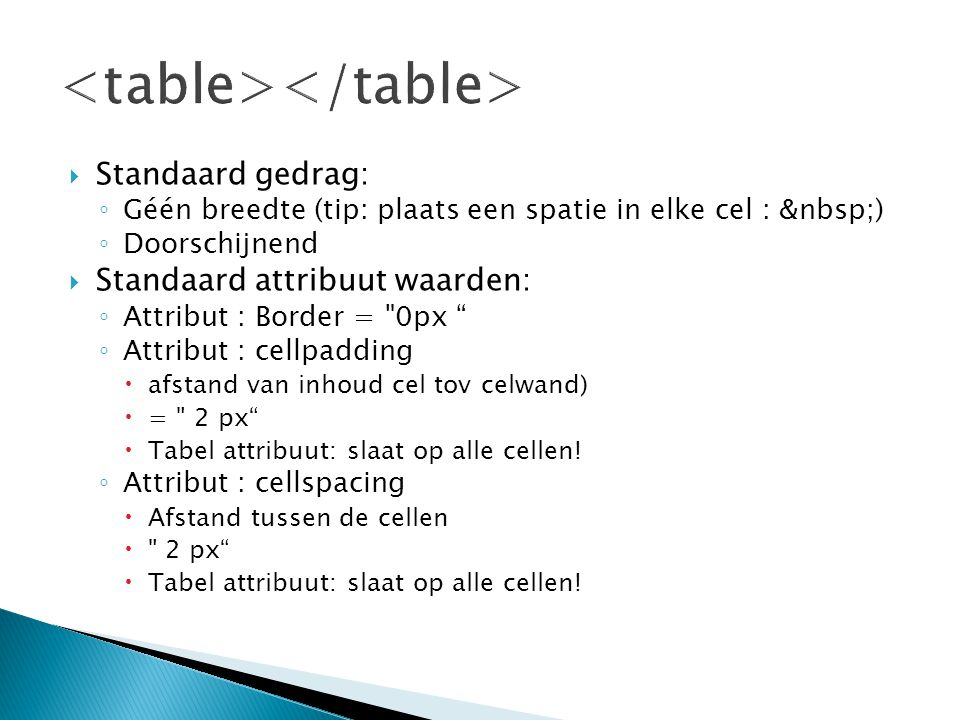 <table></table>