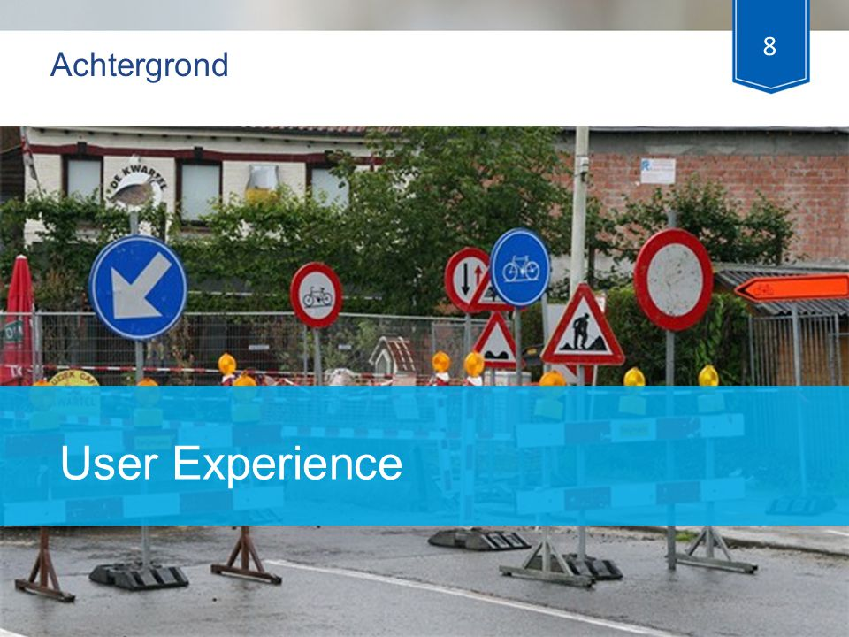 Achtergrond User Experience