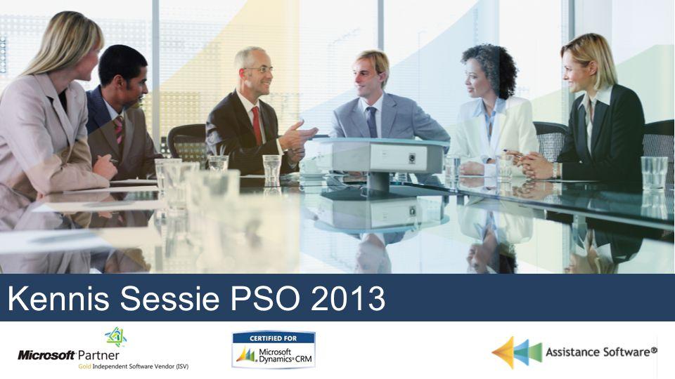 Kennis Sessie PSO 2013