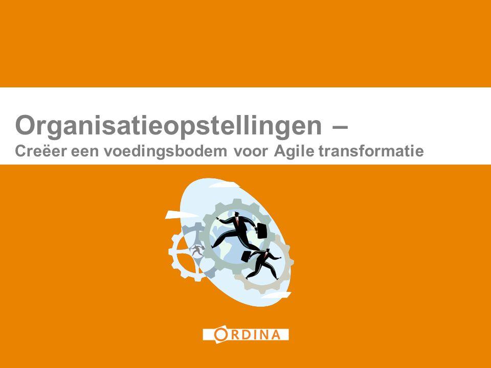 Organisatieopstellingen – Creëer een voedingsbodem voor Agile transformatie