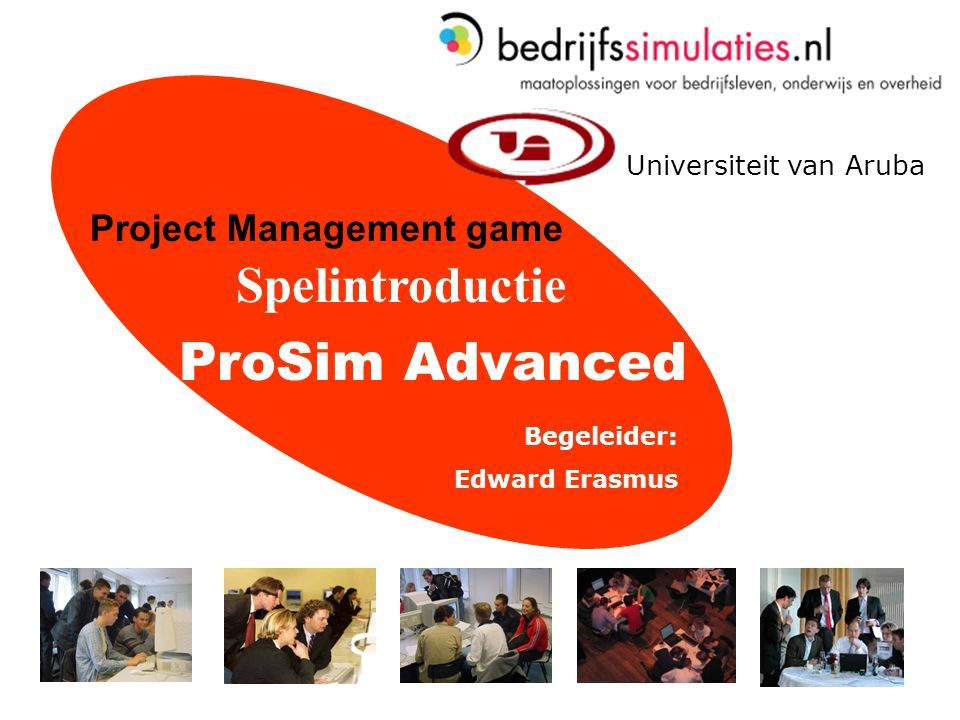 ProSim Advanced Spelintroductie Project Management game