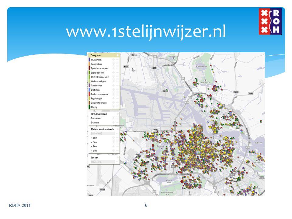 www.1stelijnwijzer.nl ROHA 2011