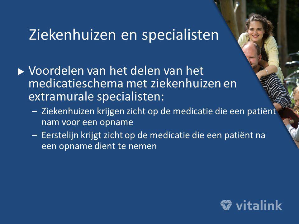 Ziekenhuizen en specialisten