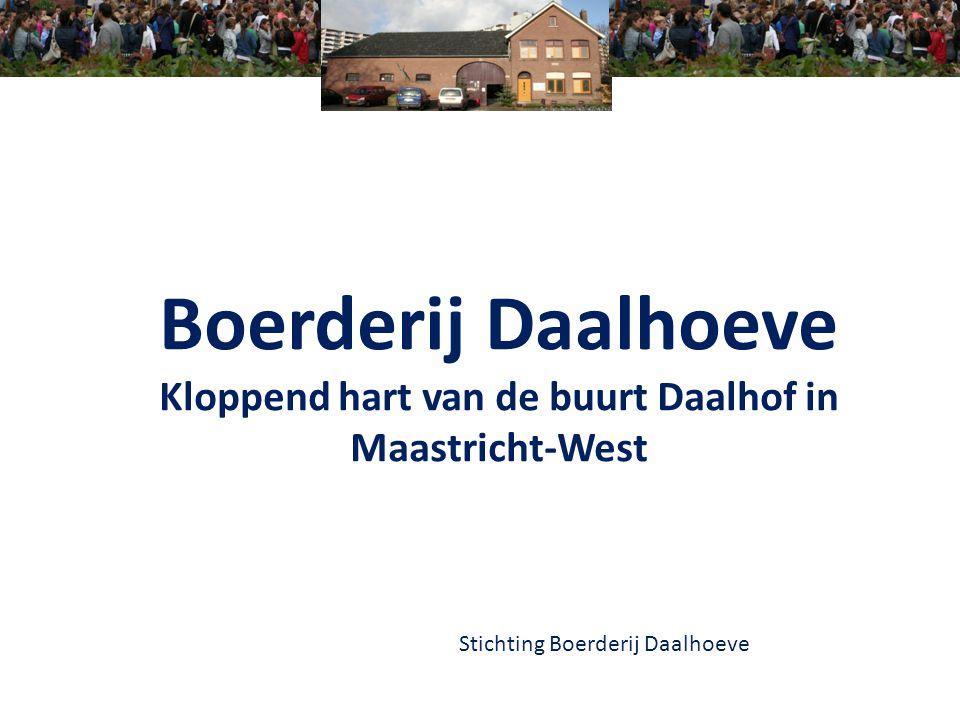 Kloppend hart van de buurt Daalhof in Maastricht-West