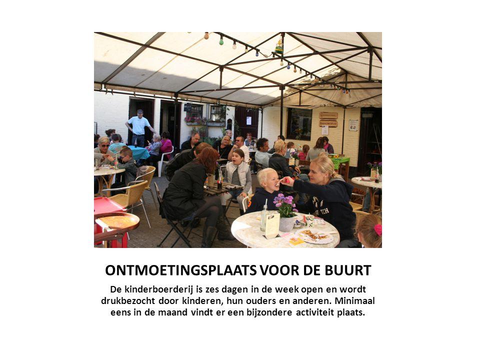 ONTMOETINGSPLAATS VOOR DE BUURT