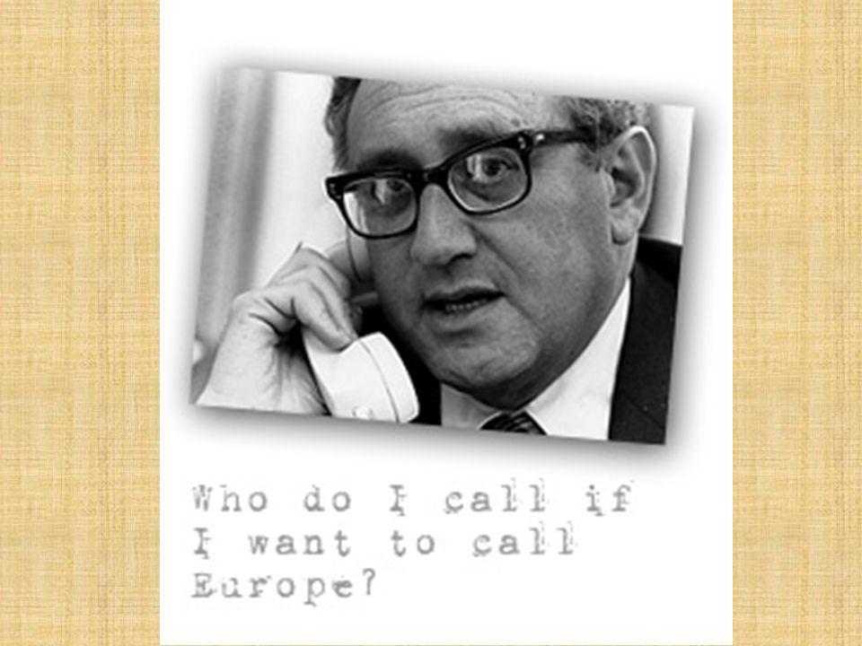 Henry Kissinger – oud minister van buitenlandse zaken van de VS