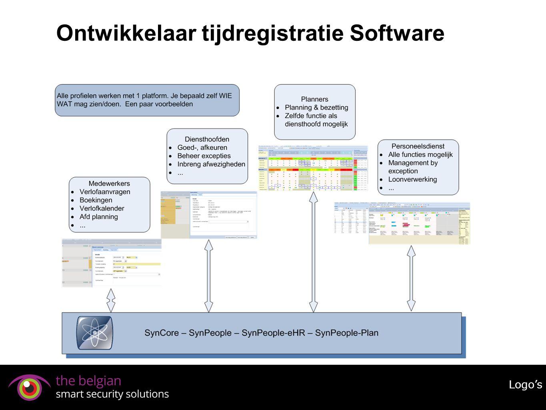 Ontwikkelaar tijdregistratie Software