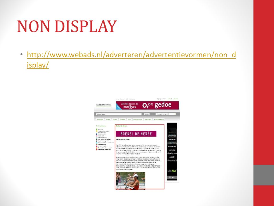 NON DISPLAY http://www.webads.nl/adverteren/advertentievormen/non_display/
