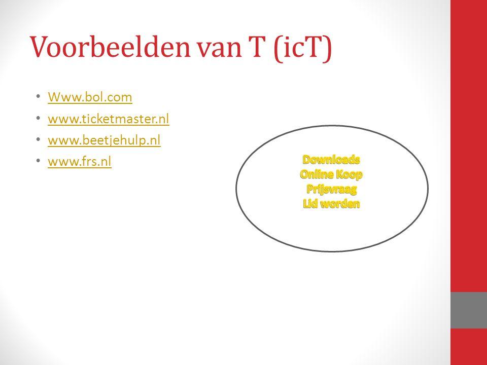 Voorbeelden van T (icT)