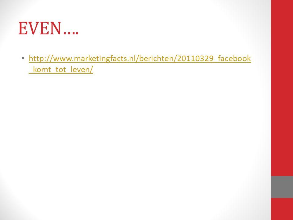 EVEN…. http://www.marketingfacts.nl/berichten/20110329_facebook_komt_tot_leven/