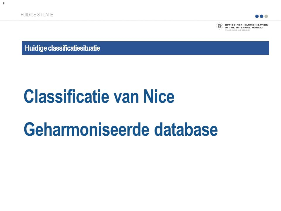Classificatie van Nice