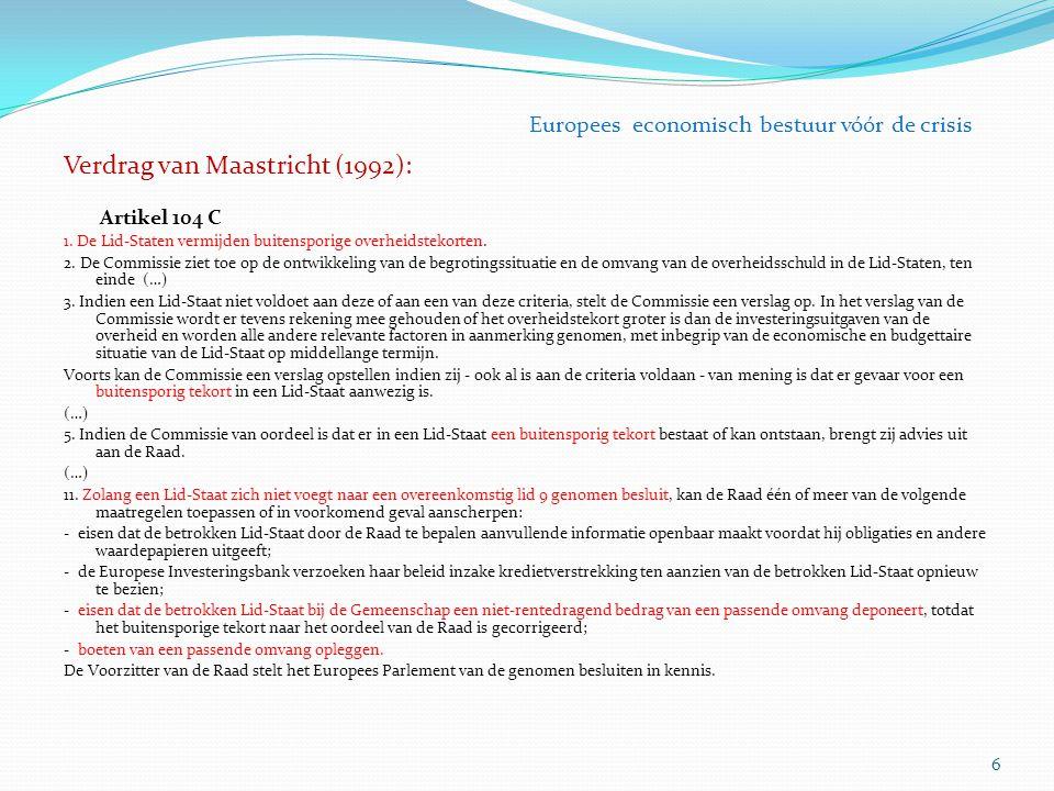 Verdrag van Maastricht (1992):