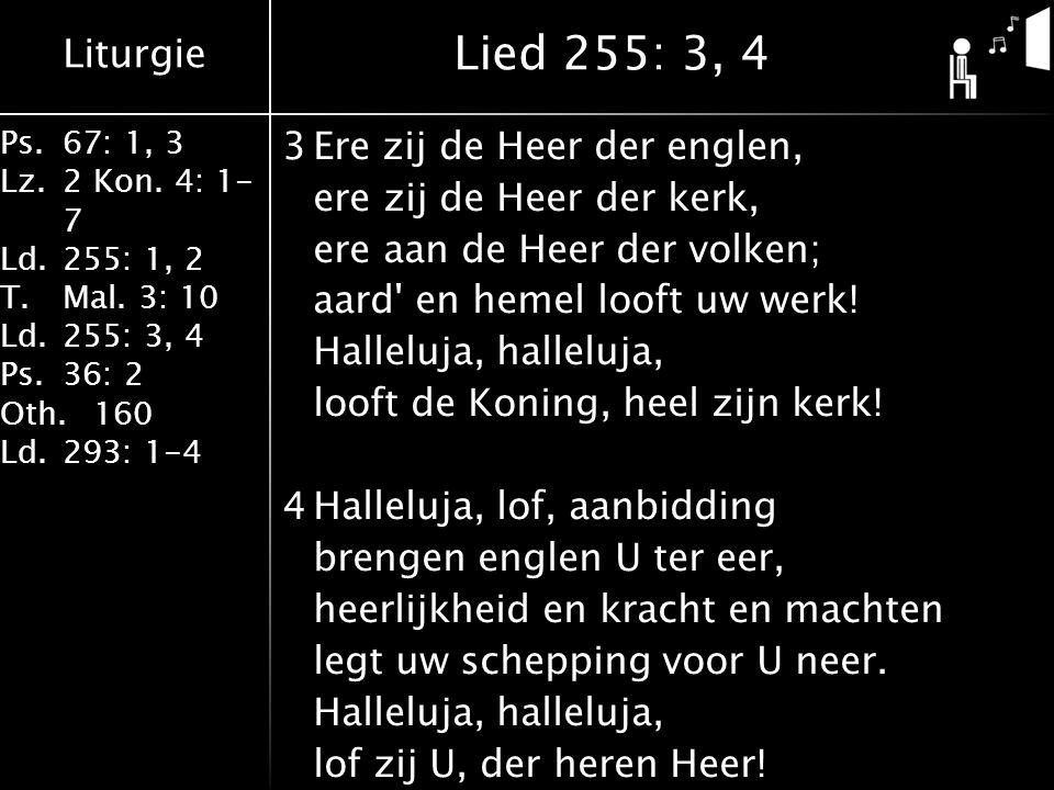 Lied 255: 3, 4