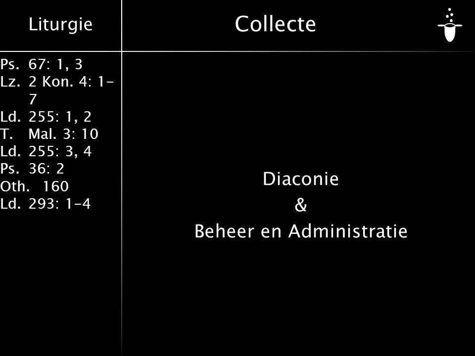Diaconie & Beheer en Administratie