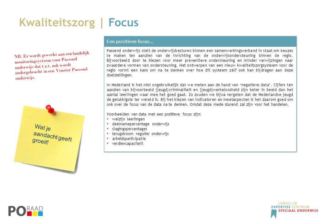 Kwaliteitszorg | Focus