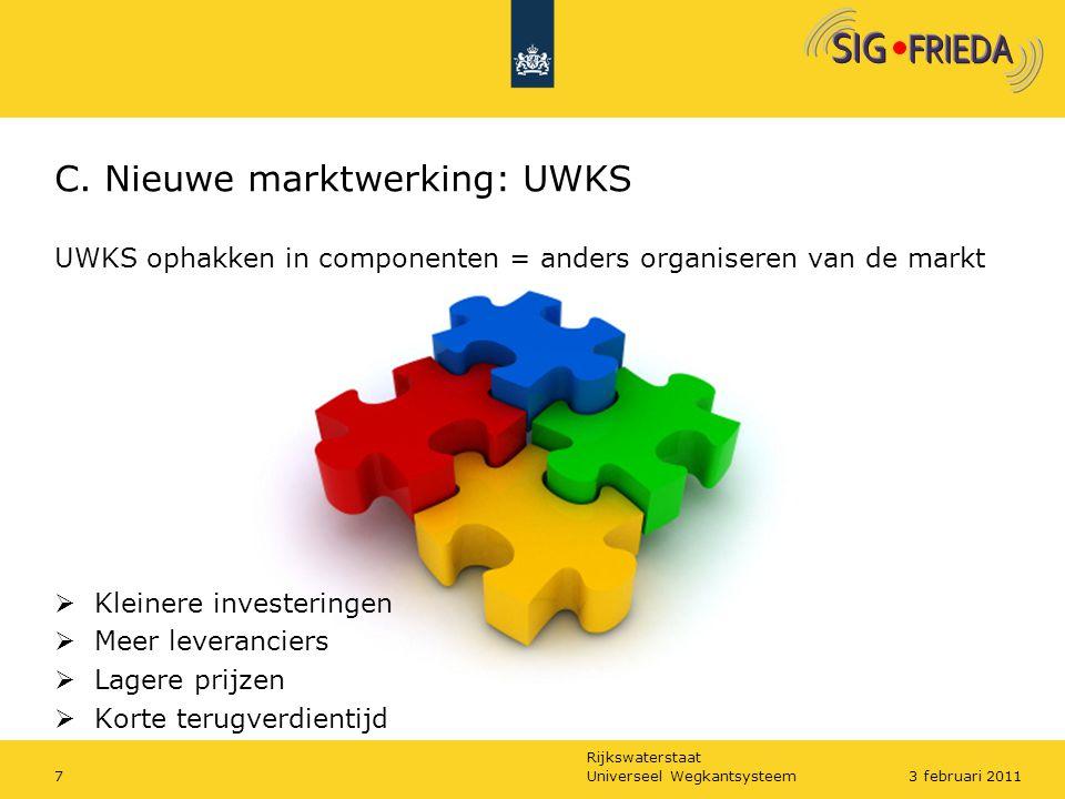 C. Nieuwe marktwerking: UWKS