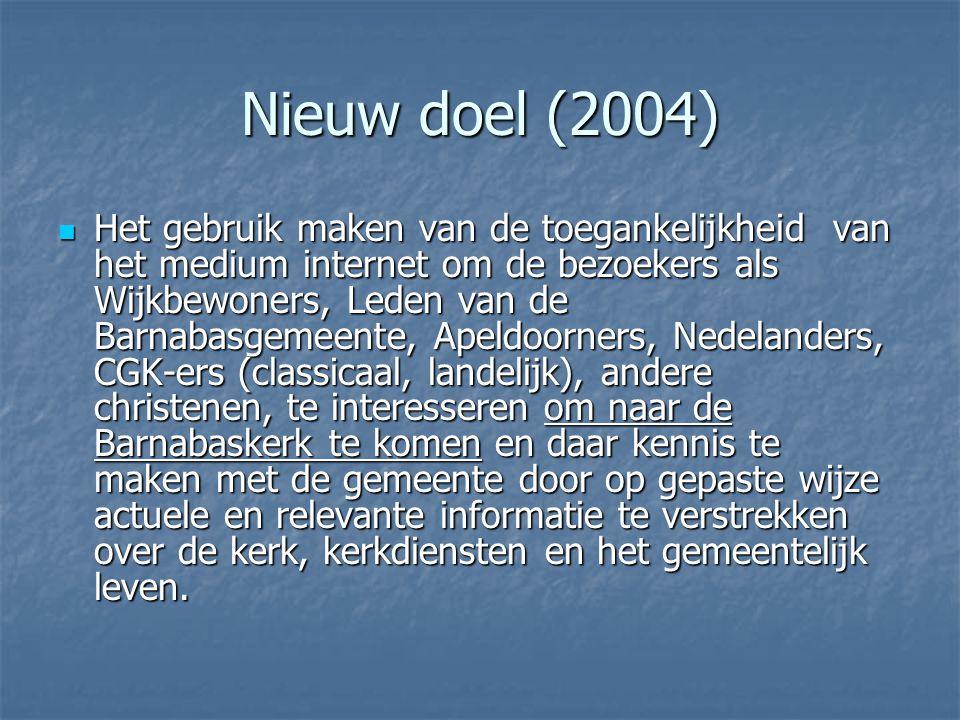 Nieuw doel (2004)