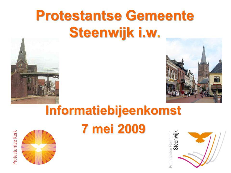 Protestantse Gemeente Steenwijk i.w.