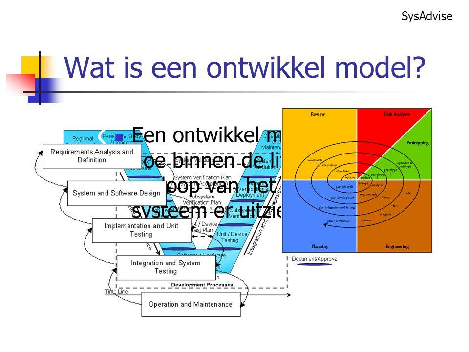 Wat is een ontwikkel model