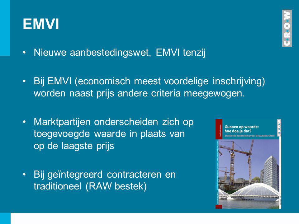 EMVI Nieuwe aanbestedingswet, EMVI tenzij