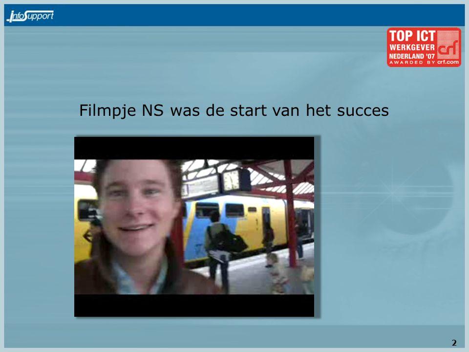 Filmpje NS was de start van het succes