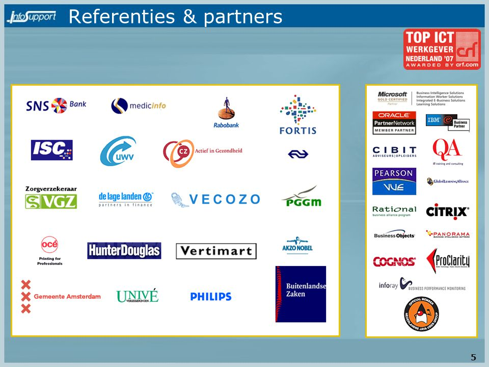 Referenties & partners