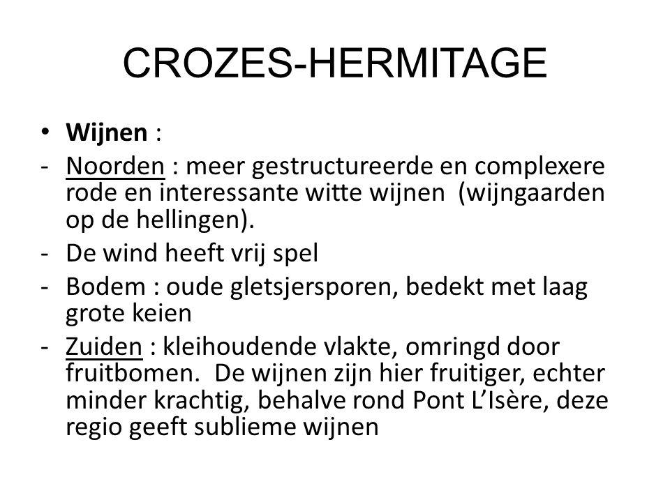 CROZES-HERMITAGE Wijnen :