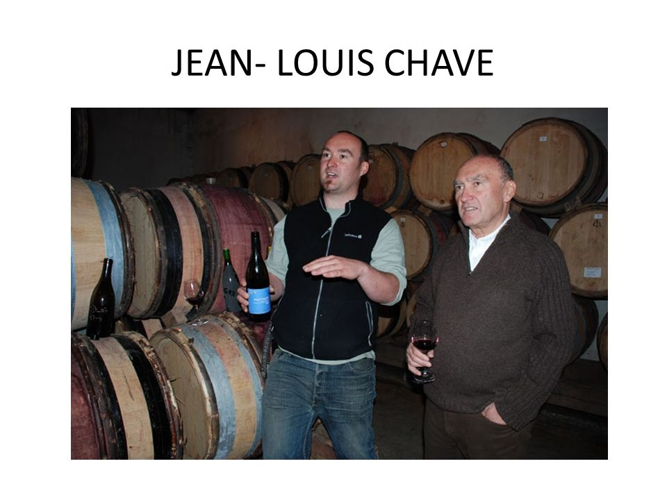 JEAN- LOUIS CHAVE