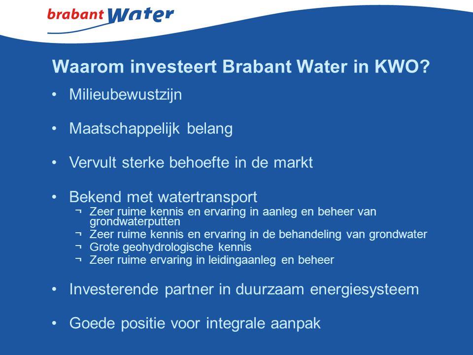 Waarom investeert Brabant Water in KWO