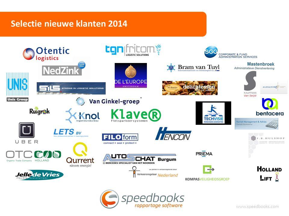 Selectie nieuwe klanten 2014