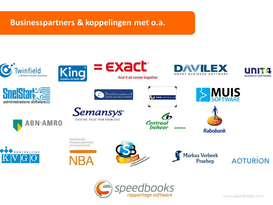 Businesspartners & koppelingen met o.a.