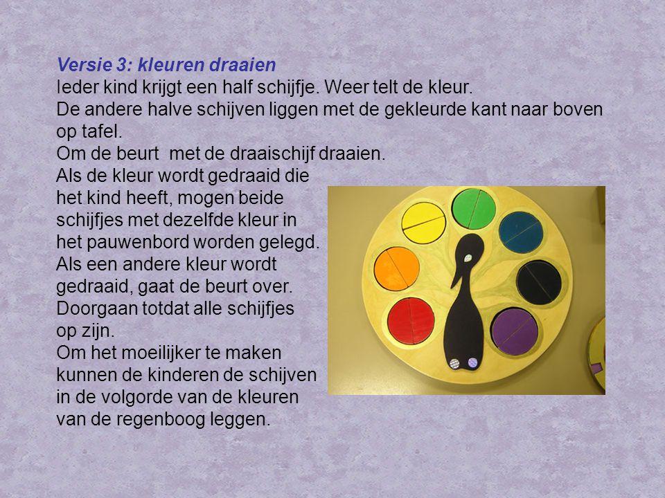 Versie 3: kleuren draaien