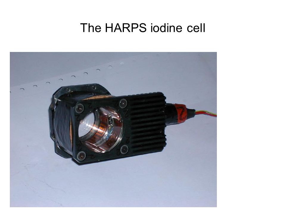 The HARPS iodine cell HOVO