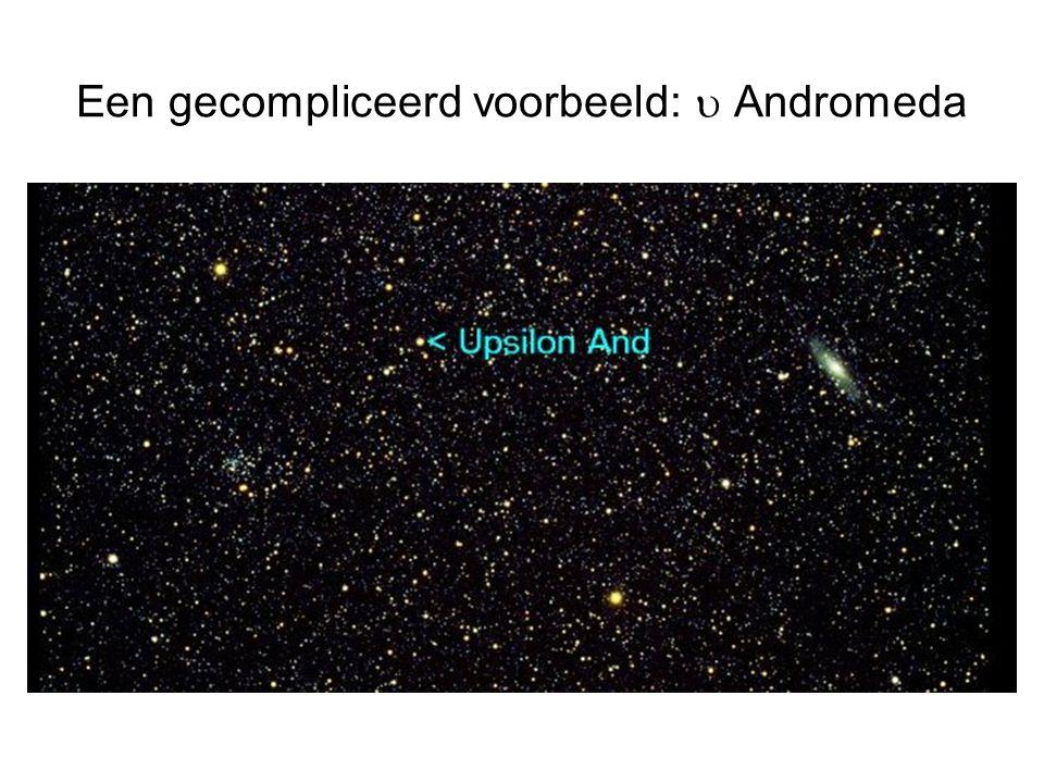Een gecompliceerd voorbeeld: u Andromeda