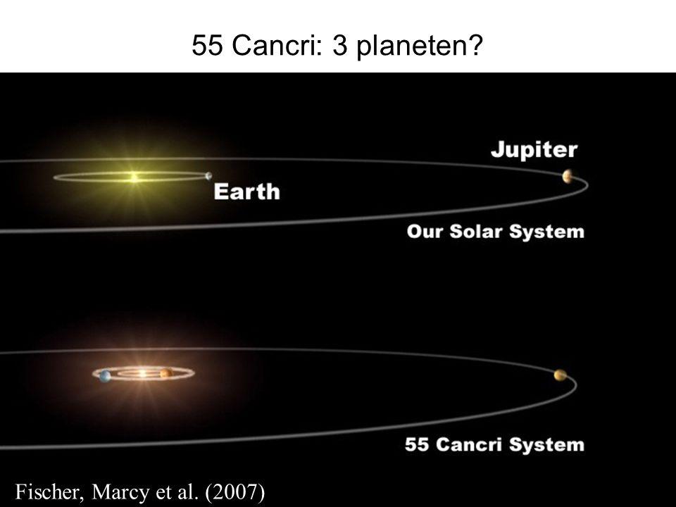 55 Cancri: 3 planeten Fischer, Marcy et al. (2007)