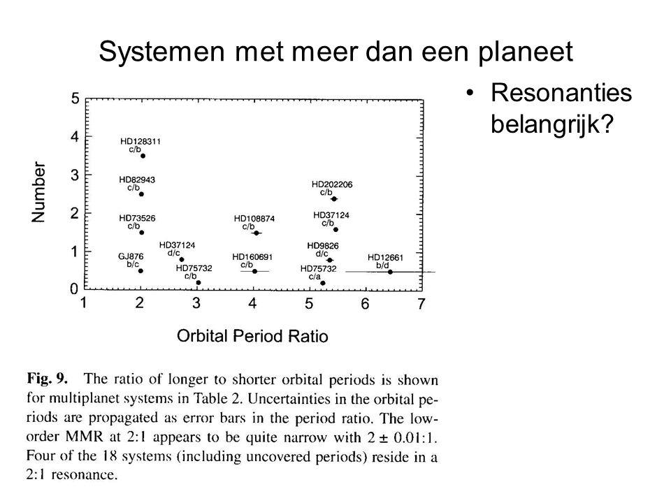 Systemen met meer dan een planeet