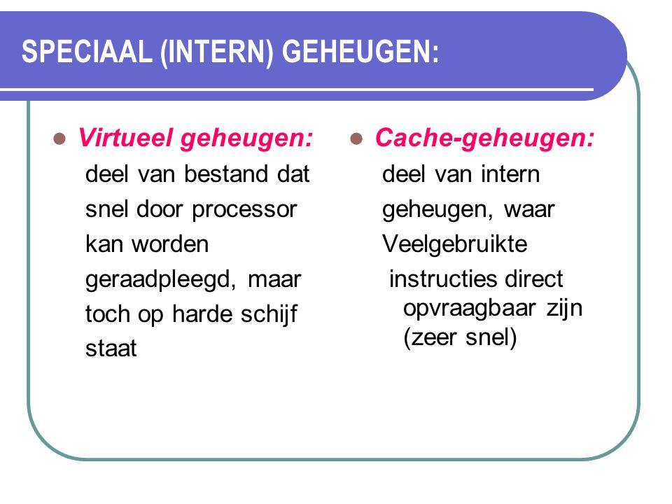SPECIAAL (INTERN) GEHEUGEN: