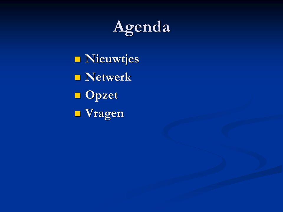 Agenda Nieuwtjes Netwerk Opzet Vragen CES - Consumer Electronics Show