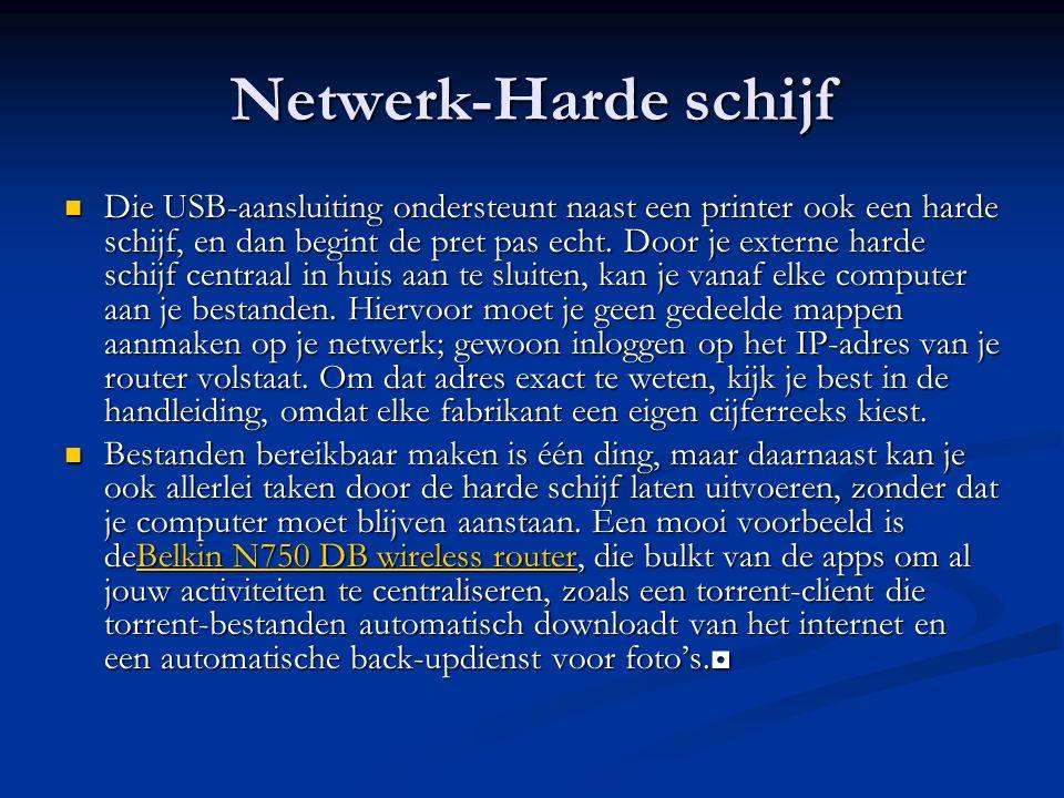 Netwerk-Harde schijf