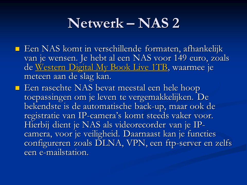 Netwerk – NAS 2