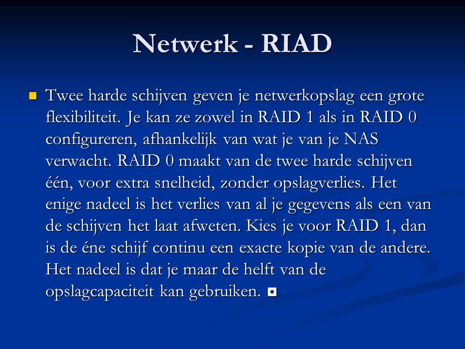 Netwerk - RIAD