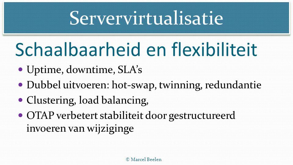 Schaalbaarheid en flexibiliteit