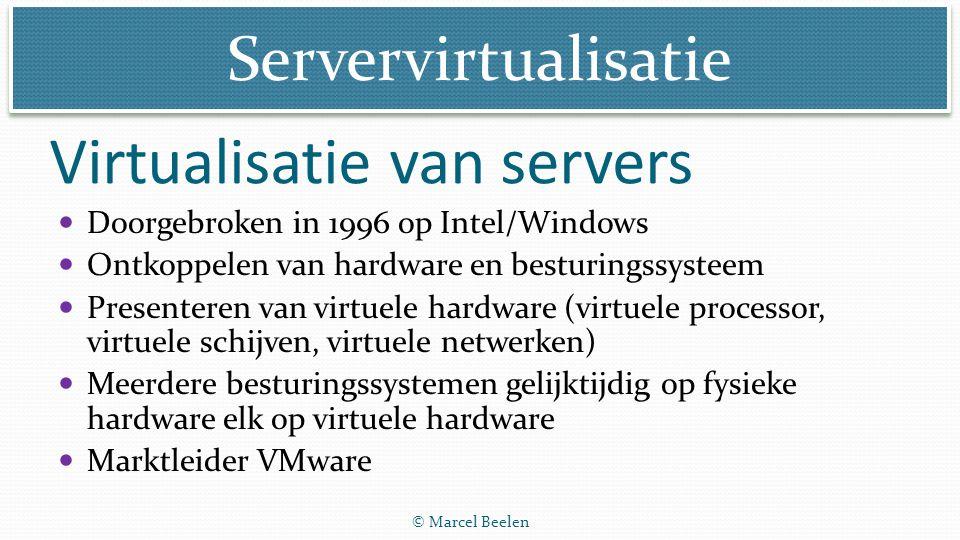 Virtualisatie van servers