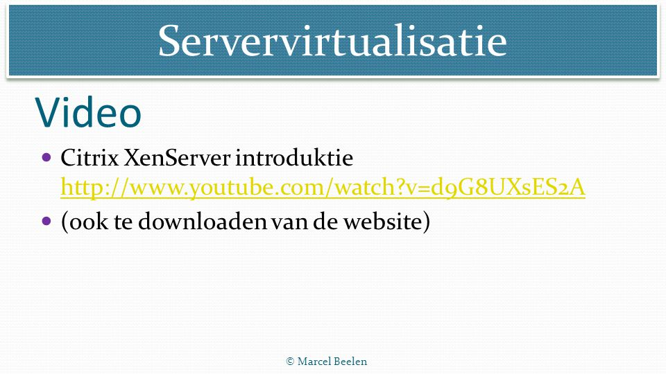Video Citrix XenServer introduktie   v=d9G8UXsES2A.