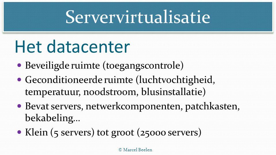 Het datacenter Beveiligde ruimte (toegangscontrole)